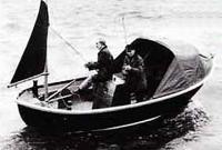 Водоизмещающая лодка