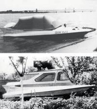 Водометные «морские сани» до и после реконструкции
