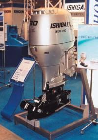 """Водометный 90 сильный подвесной мотор """"Ishigaki"""""""