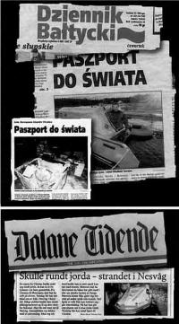 Ворох газет о путешествии Владимира Сомова
