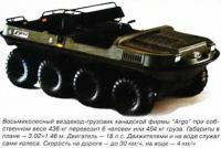 """Восьмиколесный вездеход-грузовик канадской фирмы """"Argo"""""""