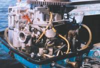 Второй карбюратор, установленный на блок клапанов «Бийска-45