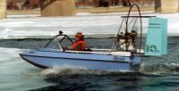 """Выход опытного образца """"Юкон-I"""" из воды на лед"""