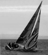 Яхта № 1 на тестовых испытаниях