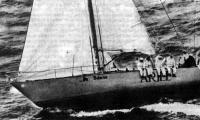Яхта «Ариэль» на ходу