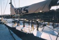 Яхта «Bols» у причала