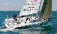 Яхта Figaro 2 под парусами