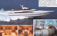 """Яхта """"Fortuna"""", принадлежащая королю Испании"""