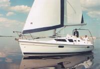 Яхта «Hunter 326», вид сбоку