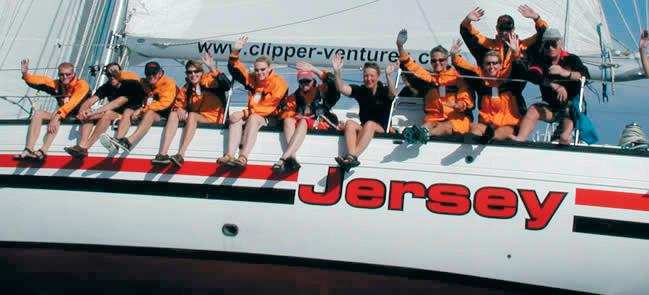 Яхта «Jersey» и ее экипаж