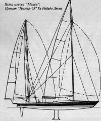 """Яхта класса """"Макси"""". Проект """"Триггер-63"""""""