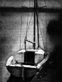 Яхта «Морской кот» у причала