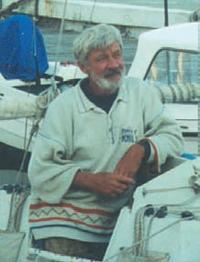 Яхтсмен Евгений Гвоздев