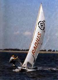 Яхтсмен на летучей трапеции