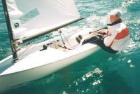 Яхтсмен на яхте класса