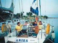 Яхтсмены из клуба