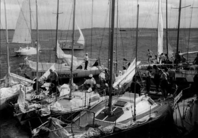 Яхтсмены подсчитывают ущерб