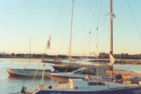 Яхты на стоянке