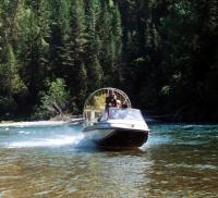 Юкон-II на алтайской реке Коксе