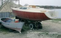 16-метровая деревянная яхта
