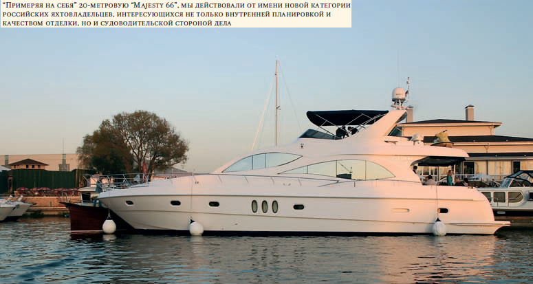 20-метровая моторная яхта