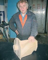 Автор с готовой моделью водовода