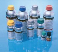 Бутылочки с клеями и герметиками