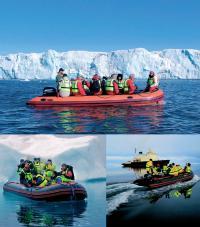 Экскурсии на лодках по Арктике