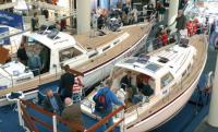 Экспозиция моторных яхт