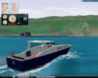 Эта 32-футовая водоизмещающая моторная яхта оказалась не в меру шустрой
