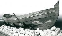 Фото лодки Петра I