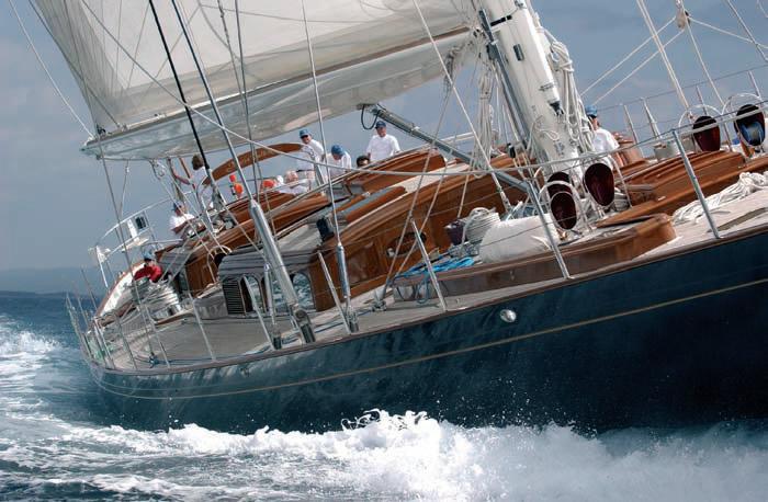 Фото палубы яхты