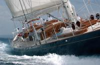 """Фото палубы яхты """"Maria Cattiva"""""""