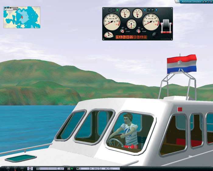 Интерфейс симулятора