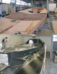 """Изготовление корпуса яхты """"Maximus"""""""