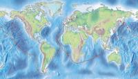 Карта маршрута первого кругосветного плавания россиян