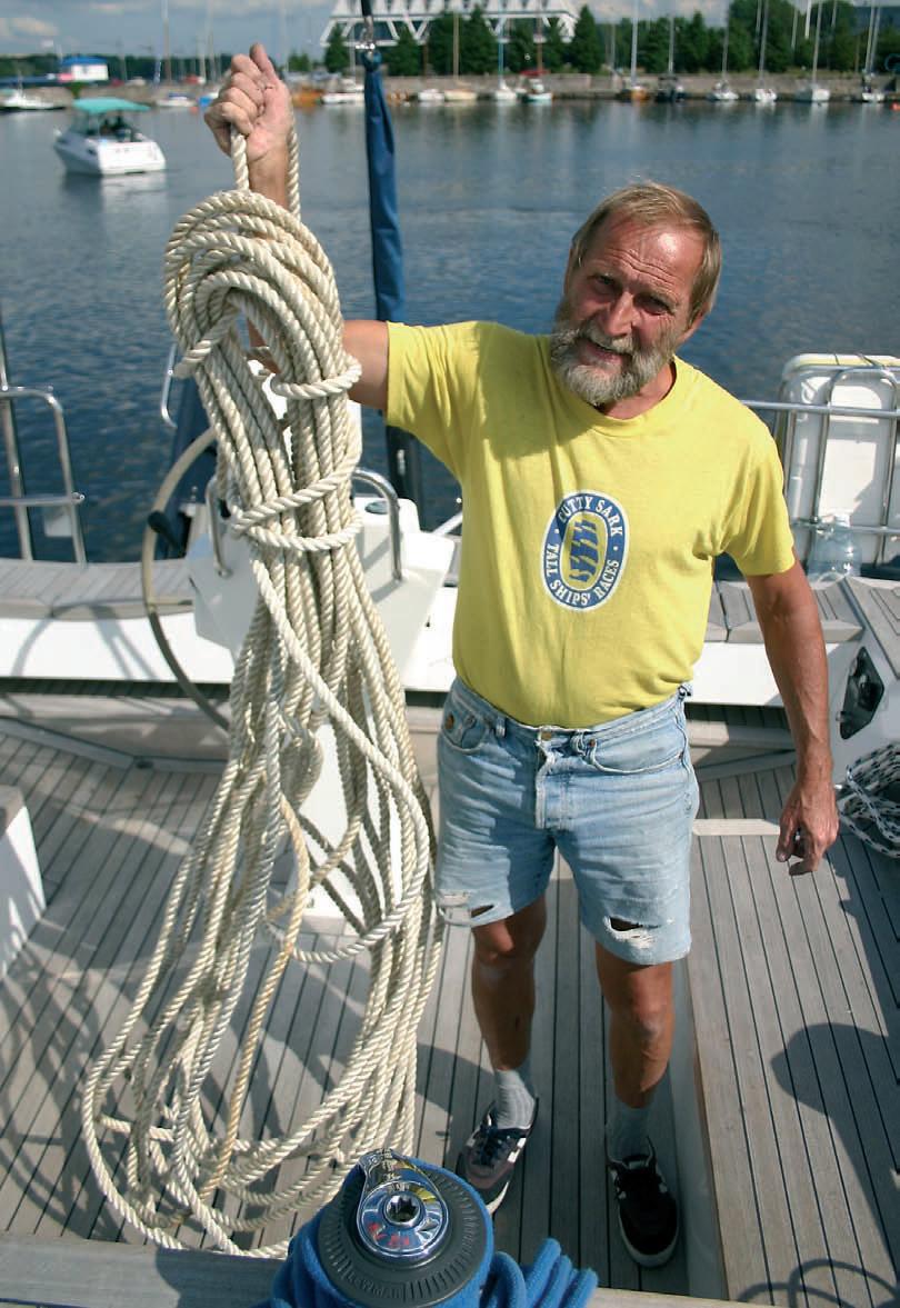 Каждый яхтсмен должен уметь вязать узлы
