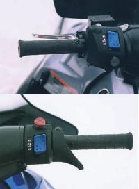 Клавиши управления на руле одинаковы и у