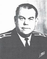 """Командир гвардейского """"БК-47"""" капитан-лейтенант К. Н. Сокольников"""