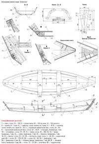 """Конструкция корпуса лодки """"Аллигатор"""""""