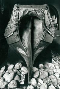 Корма лодки Петра I