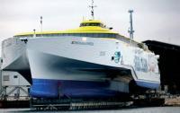 """Крупнейший в мире тримаран типа """"Auto-Express"""" для судовладельца Фреда Олсена"""