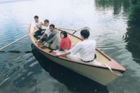 Лодка с полной нагрузкой
