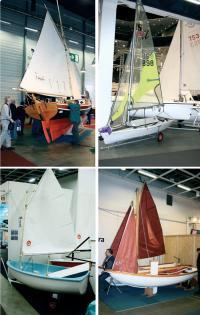 Малые парусные лодки популярны у северных соседей