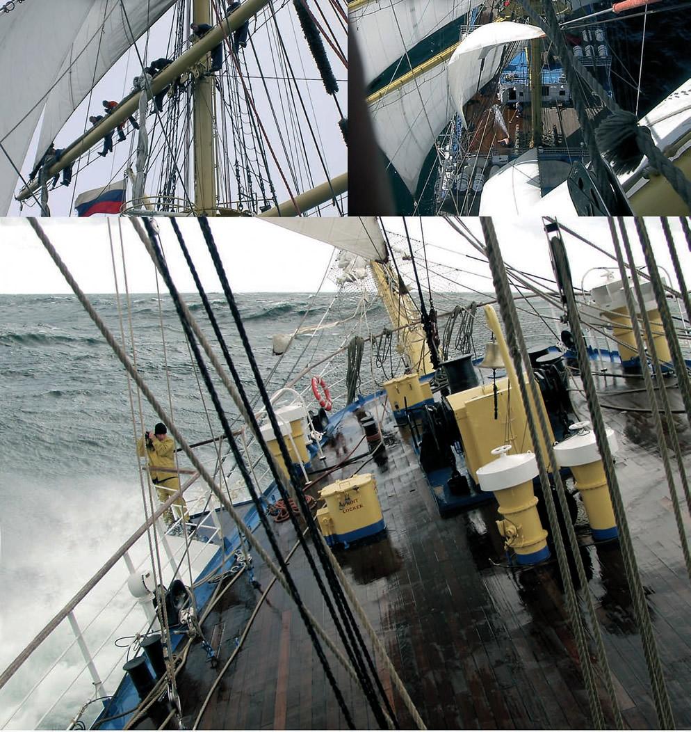 Несколько фотографий с палубы