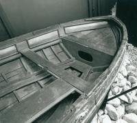 Носовая часть лодки Петра I