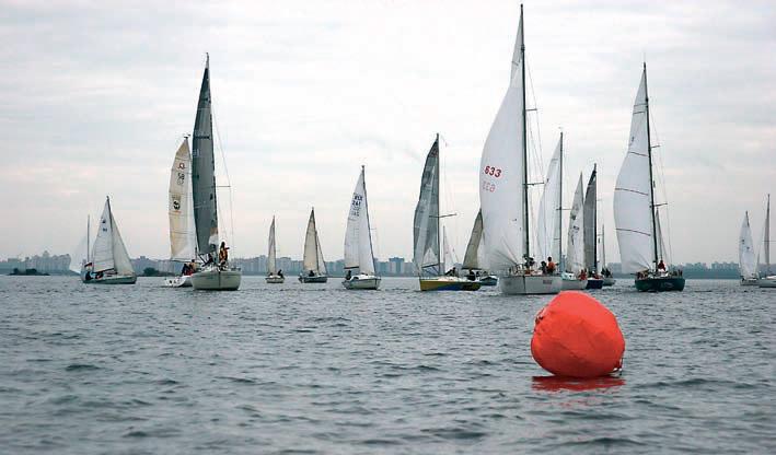 Осенняя гонка парусных яхт
