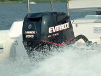 Подвесной мотор Evinrude на транце