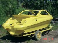 Полностью готовый корпус лодки