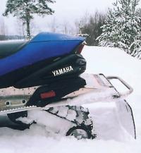 """При полностью забитой снегом задней подвеске """"Rage"""" продолжает движение"""